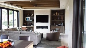 Custom Entertainment Unit in a Modern Living Room